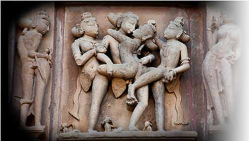 Visit the Erotic Temples of Khajuraho